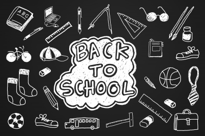 Organize Your Home with Back to School Zones