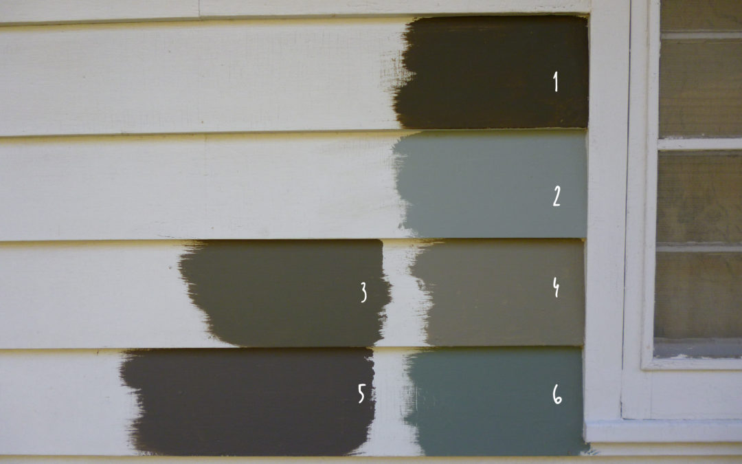 How To Pick A Great Exterior Paint Home Color
