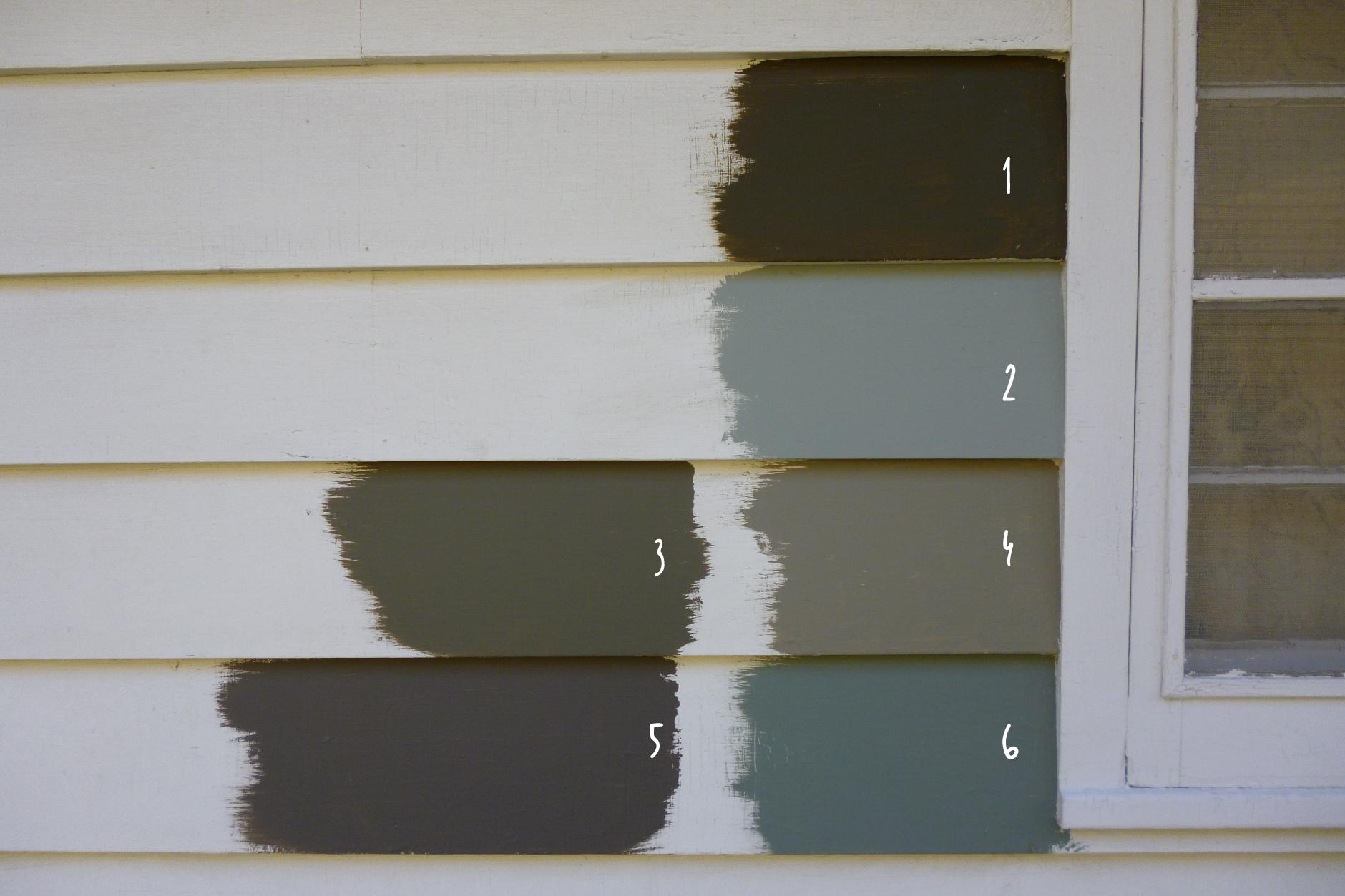 Exterior House Paint Color Combinations Stucco