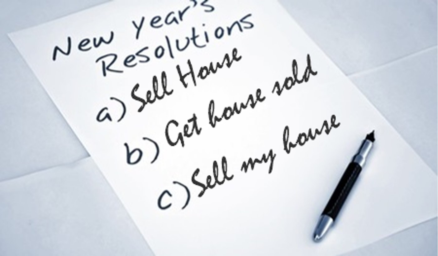 Selling Your Home in 2015? Make 5 Resolutions for Success