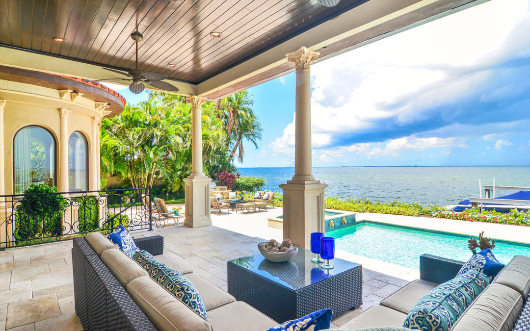 See inside a $7.75M waterfront mansion in Tampa, the second most expensive listing in the city