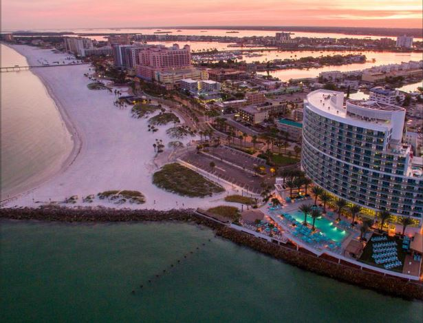 Two Clearwater Beach hotels among top 10 in Florida