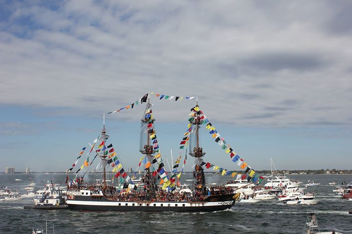 2019 Schedule of Events: Gasparilla Invasion and Parade of Pirates