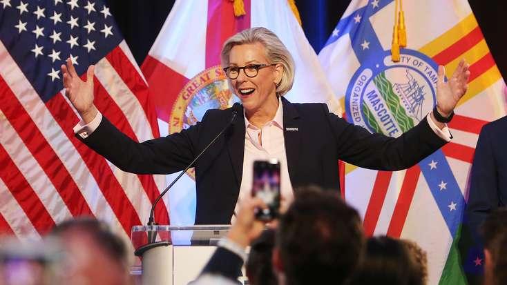 Jane Castor wins big in Tampa mayor's race