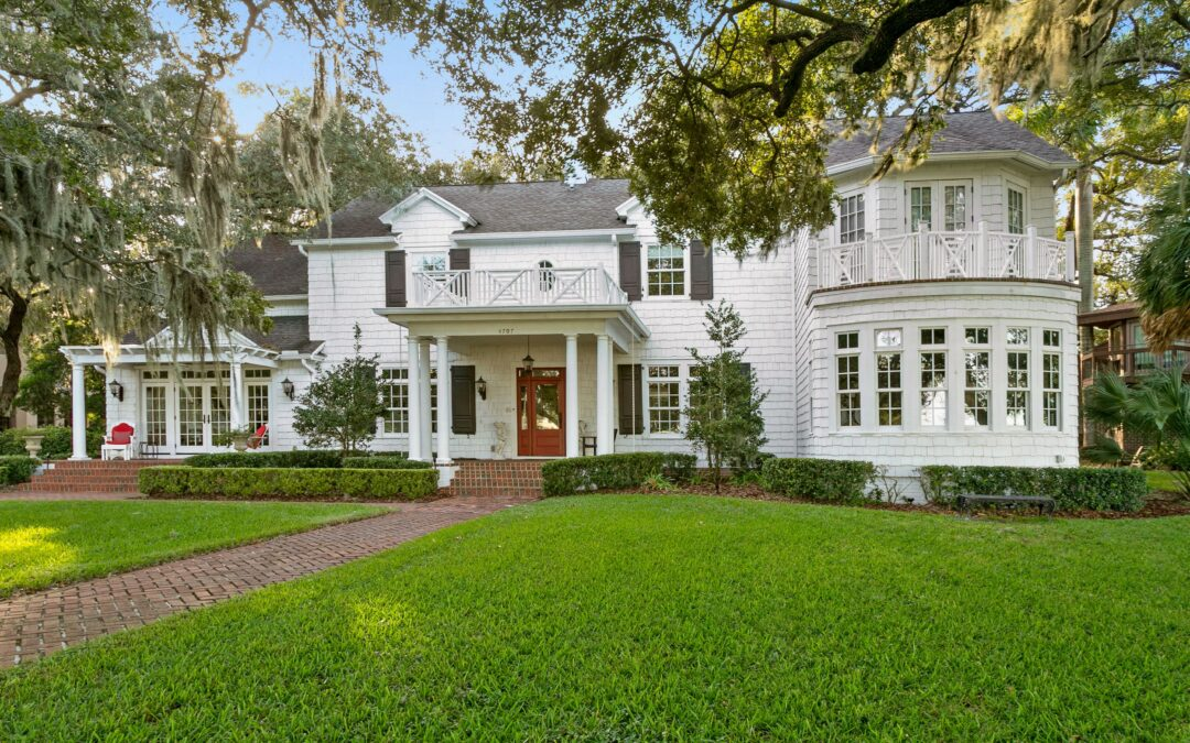A Historic Bayshore Home with Ties to the Lykes family, One of Tampa's Wealthiest Dynasties, is Now For Sale